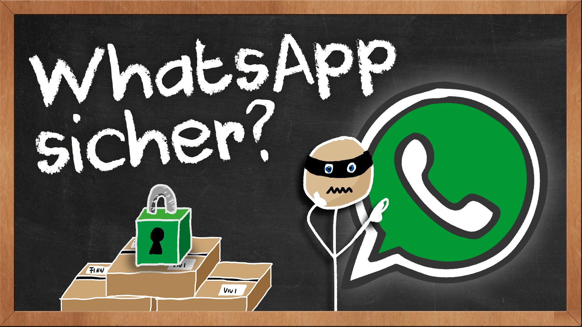 Whatsapp Sicher